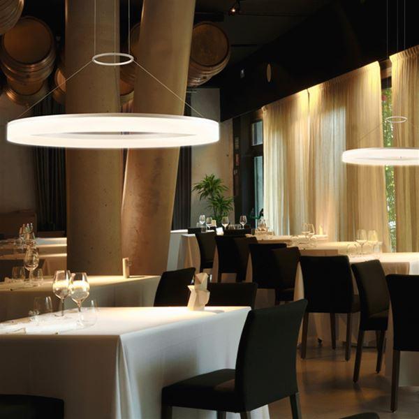 Circ lampada a sospensione leds c4 illuminazione - Illuminazione cucine moderne ...