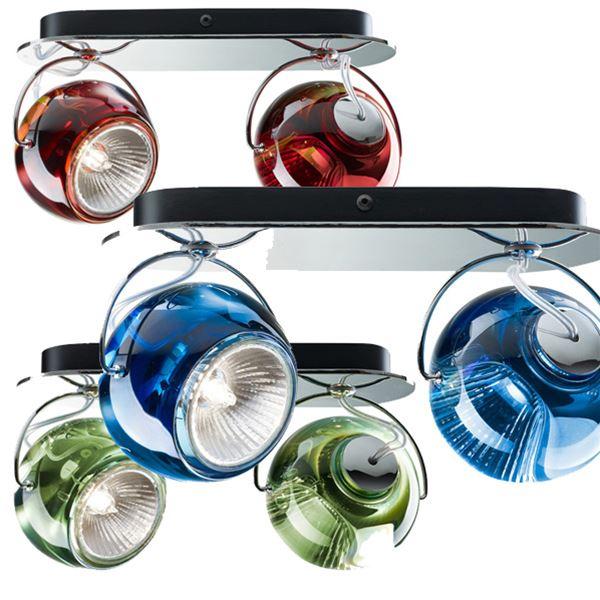 Beluga colour 2 luci soffitto/parete - Fabbian - Applique - Progetti in Luce