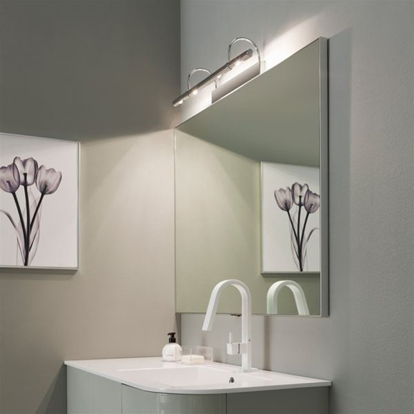 Flue 4 luci applique linea light applique progetti - Luci led per bagno ...