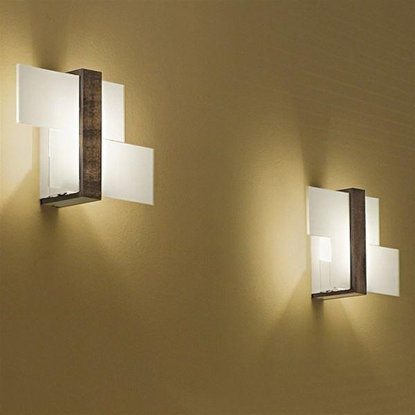 Triad lampada da parete/soffitto - Linea Light - Applique - Progetti in Luce