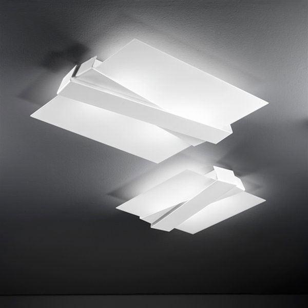 zig zag plafoniera s linea light soffitto progetti in luce