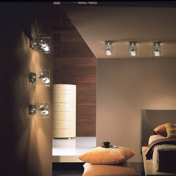 Orbis 1 luce soffitto/parete - Linea Light - Applique - Progetti in Luce