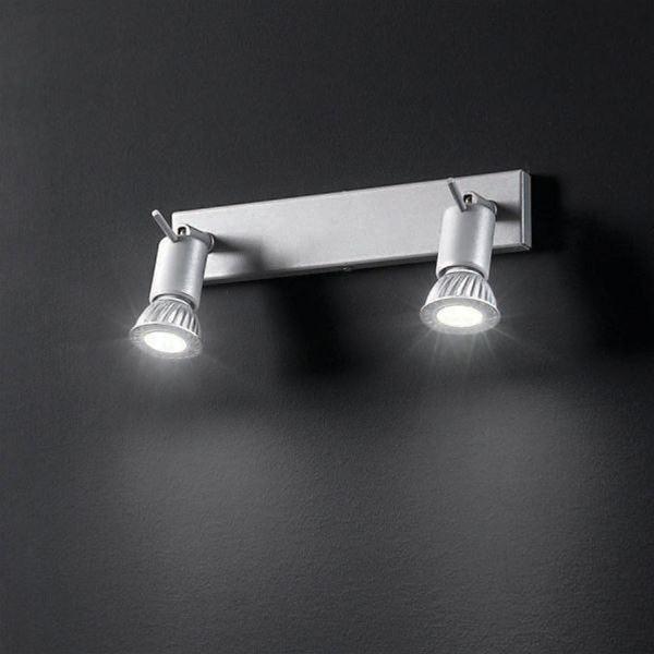 Spotty 2 luci   linea light   soffitto   progetti in luce