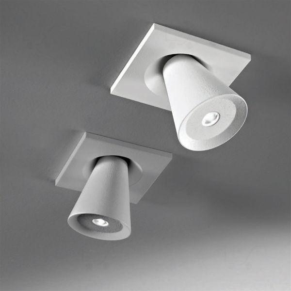 Conus soffitto orientabili LED - Linea Light - Soffitto - Progetti in Luce
