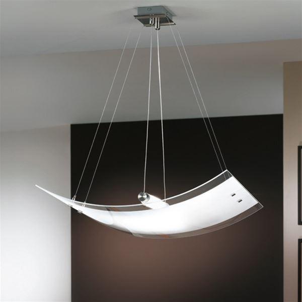 lampadari linea light : mille sospeso linea light 180 00 lampadario a sospensione montatura in ...
