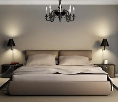 Dedicato a tutte le coppie e non progetti in luce - Camera da letto con applique ...