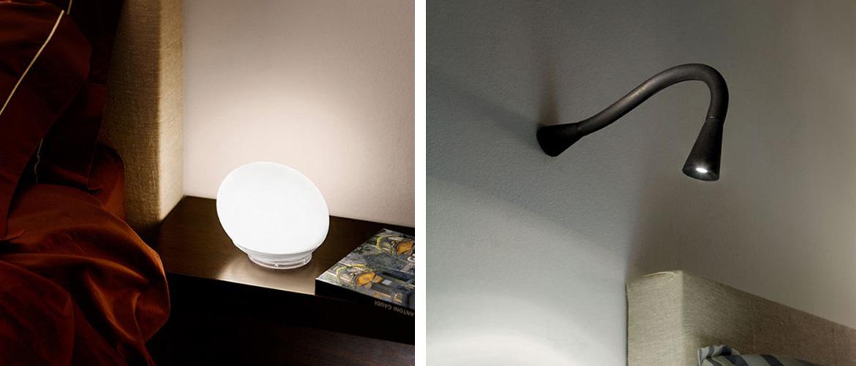 Illuminazione camera da letto lampadari lampade for Faretti camera da letto