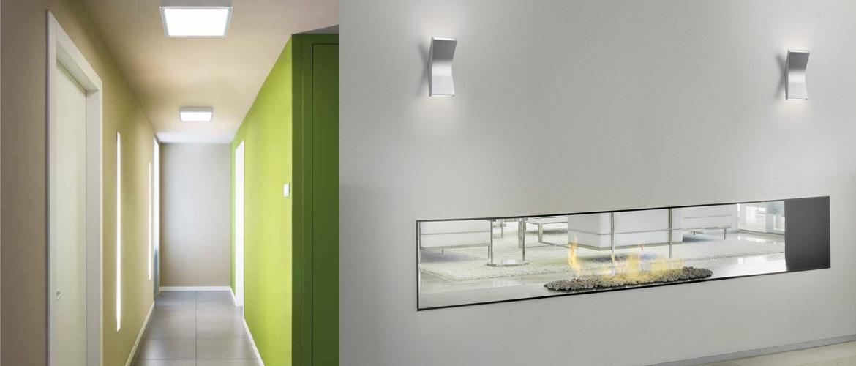 Illuminazione corridoio lampadari faretti plafoniere for Lampadari moderni per ingresso