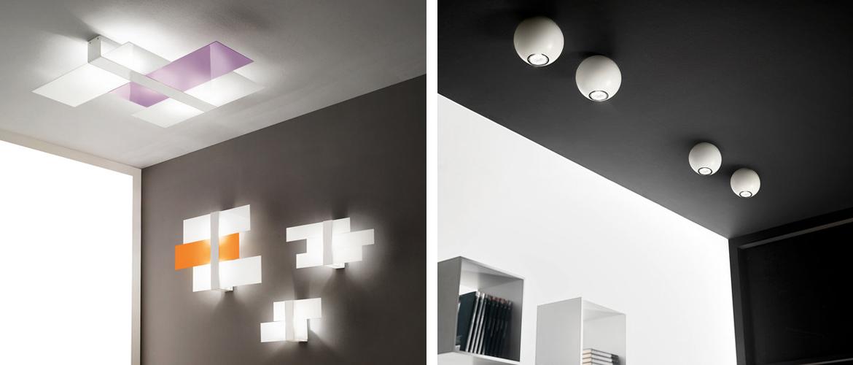 Luci Soffitto Design: Sikrea soluzioni illuminazione e Design moderno.