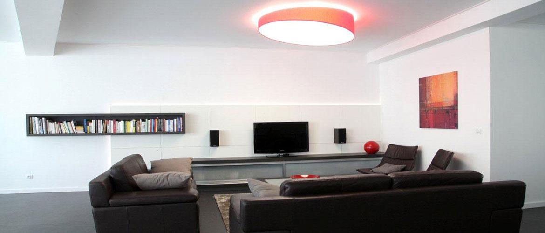 Illuminazione soggiorno e salotto lampadari applique lampade da terra progetti in luce - Lampade moderne per soggiorno ...