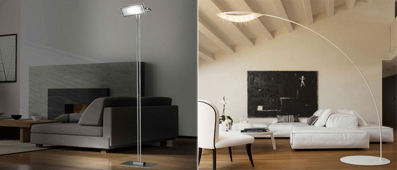 Illuminazione soggiorno e salotto lampadari applique lampade da terra progetti in luce - Lampada per soggiorno ...