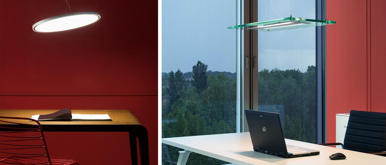 Illuminazione studio casa e ufficio lampade da tavolo for Lampadari per studio