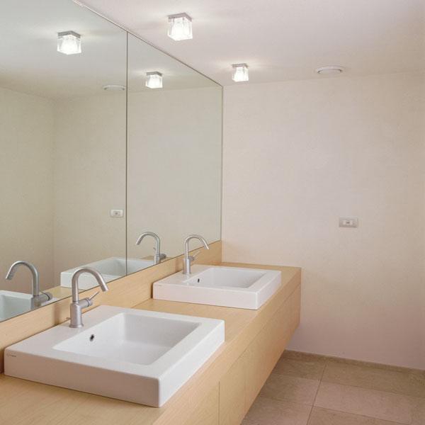 Cubetto colour 1 luce soffitto - Fabbian - Soffitto ...