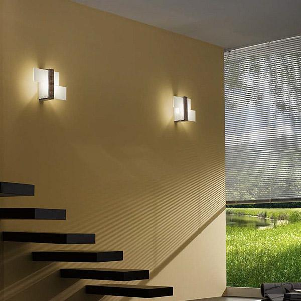 Triad mini soffitto parete linea light applique progetti in luce - Luci per scale ...
