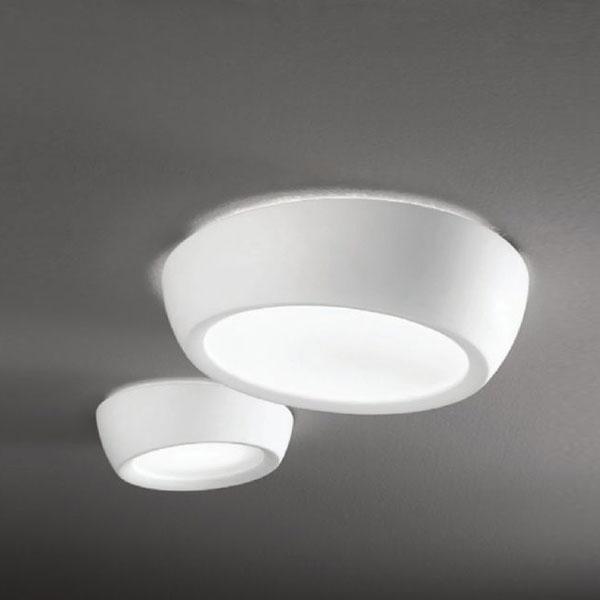 Gesso lampada da soffitto linea light soffitto - Lampade da soffitto per bagno ...