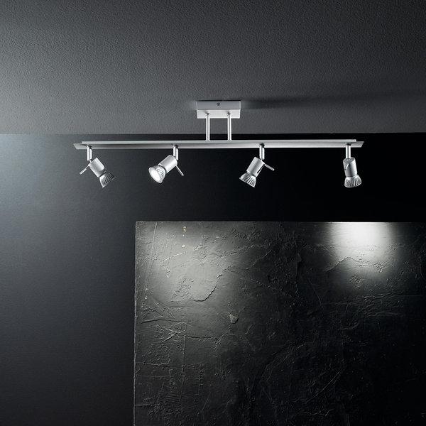 Spotty 4 luci barra da soffitto linea light soffitto - Illuminazione bagno soffitto ...