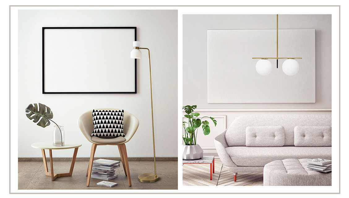 Come illuminare il soggiorno in stile nordico - Progetti in Luce