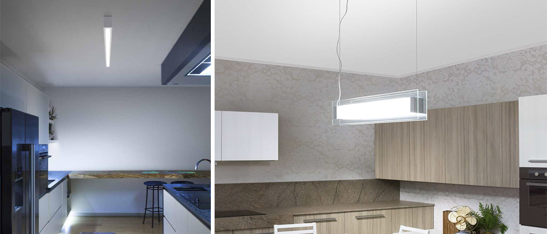 Illuminazione cucina - Progetti in Luce