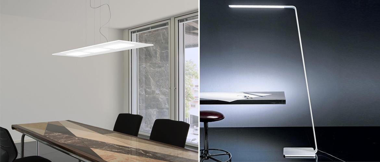 Luci Al Neon Per Ufficio.Lampade Per Ufficio A Led Ispirazione Per La Casa