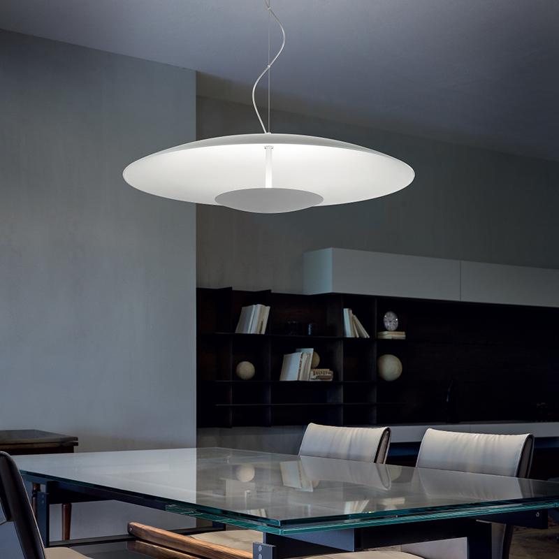 Horizon lampada a sospensione linea light lampadari - Lampadari ufficio ...