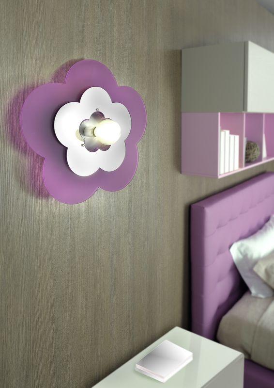 Come scegliere la lampada per la cameretta progetti in luce for Parete cameretta bambina