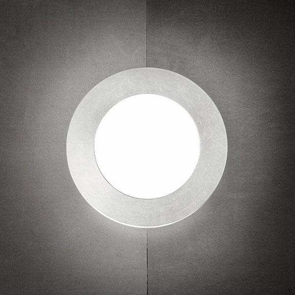 Gaio tondo 19 cm soffitto parete sforzin soffitto - Applique per bagno classico ...