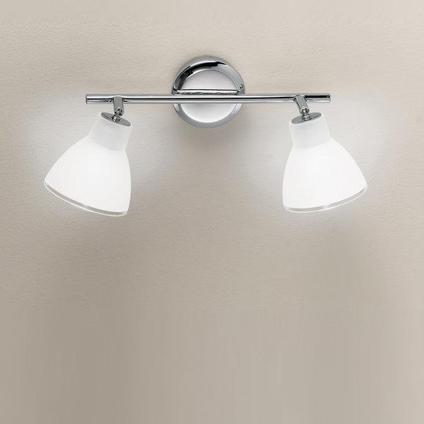 Campana small soffitto parete linea light soffitto - Luci per specchio bagno ...