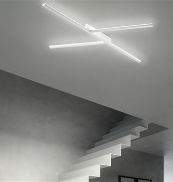 Illuminazione A Soffitto.Xilema Applique Di Design