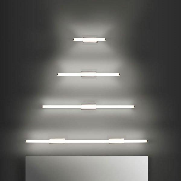 Toilet slim applique leds c4 illuminazione applique - Illuminazione per specchio bagno ...