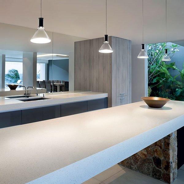 Multispot polair f32 lampadario fabbian lampadari sospensione progetti in luce - Illuminazione per cucina moderna ...