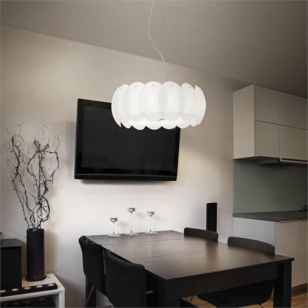 Ovalino sospensione ideal lux lampadari sospensione for Lampadari circolari
