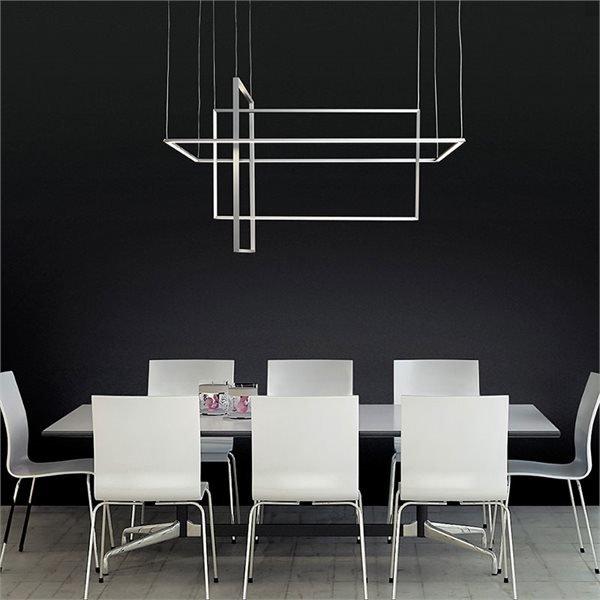 Area sospensione sforzin lampadari sospensione progetti in luce - Lampade moderne per soggiorno ...